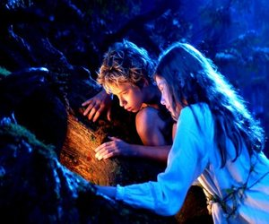 love, wendy, and peter pan image