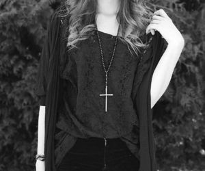 fashion, style, and black and white image
