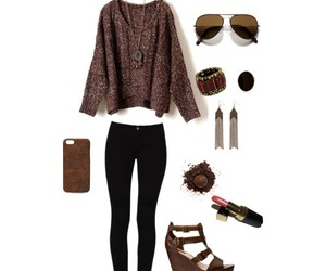 brown, clothes, and fabulous image