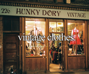 vintage, shop, and clothes image