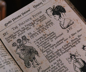 harry potter, book, and potion image