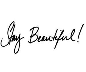 stay beautiful image