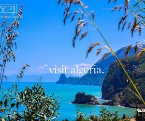 Algeria, beach, and beautiful image