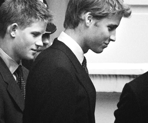 royalty, harry, and william image