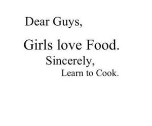 food, girl, and love image