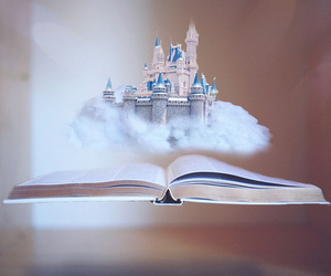 book, castle, and Dream image