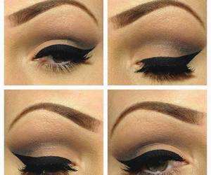 delineador, eyes, and hermoso image