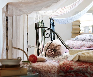 beds, romantic, and boho image