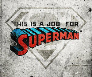 cartoon, job, and superman image