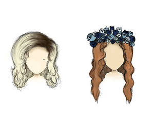 lana del rey, marina and the diamonds, and hair image