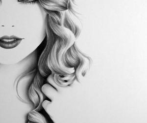 Taylor Swift, drawing, and art image