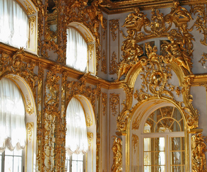 gold, architecture, and palace image
