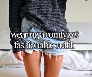 comfy, fashionable, and outfit image