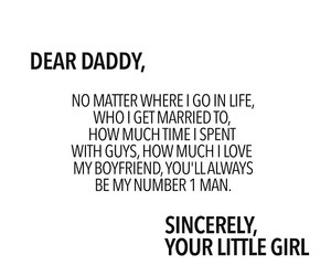 daddy and love image