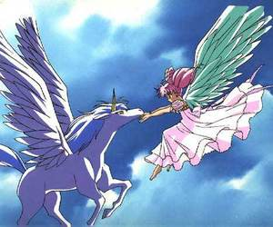 anime, helios, and pegasus image