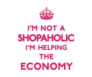 shopping, clothes, and economy image