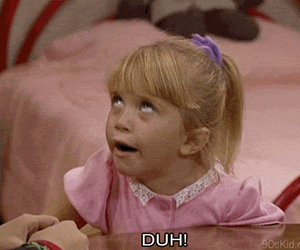 duh, full house, and funny image