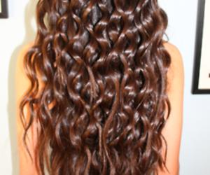 hair and curly image