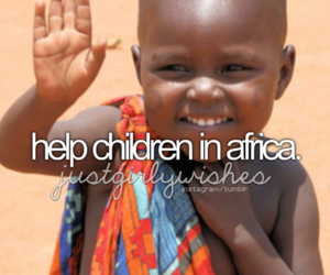 africa, children, and help image