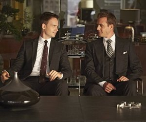 suit, gabriel macht, and patrick j adams image