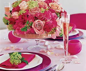 champagne, decoration, and dinner image