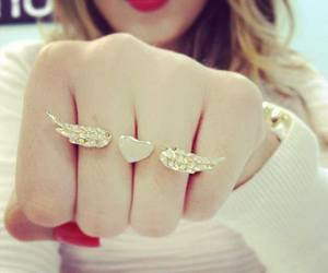 ring, heart, and wings image