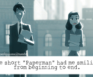 confessions, disney, and paper man image