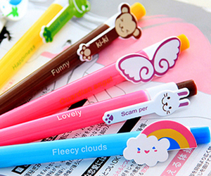 pen, cute, and kawaii image