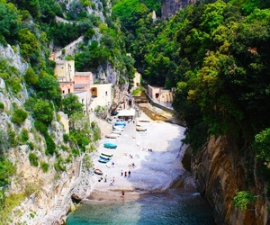 Amalfi, beach, and italy image