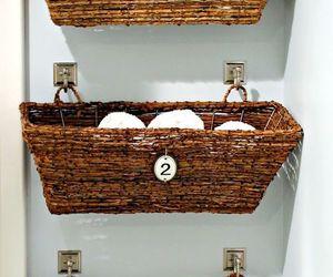 bathroom, diy, and storage image