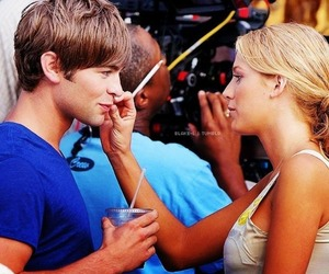 blake lively, Chace Crawford, and gossip girl image