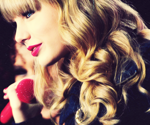 beautiful, curls, and red image