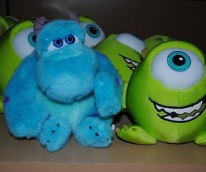 monsters inc, mike, and blue image