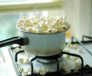 popcorn, food, and vintage image
