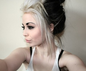 alternative, pastel hair, and cute image