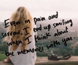 memories, pain, and quote image