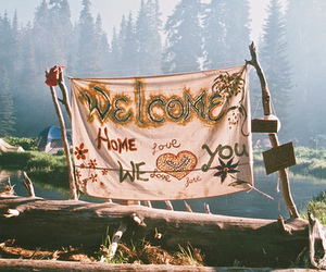 love, hippie, and indie image