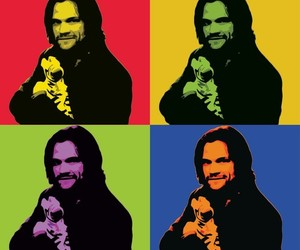 andy warhol, sam winchester, and spn image