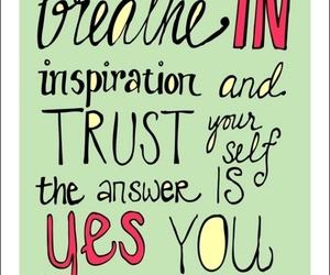 quotes, inspiration, and trust image