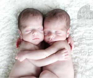 baby, hug, and girl image