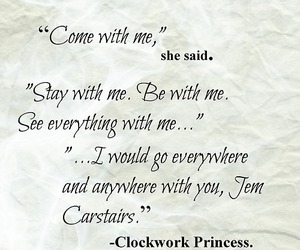 quote and clockwork princess image