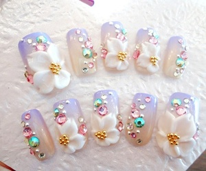 girly, hime, and nails image