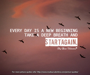 quote, life, and start image
