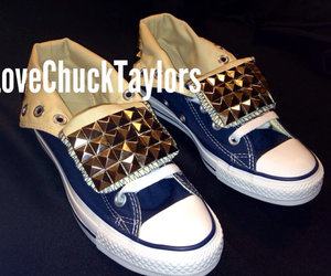 chuck taylors, chucks, and converse image