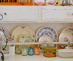 china, dishes, and plates image