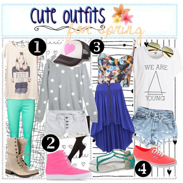 e5f90b29d8 CUTE SPRiNG OUTFiTS ♥ - Polyvore on We Heart It