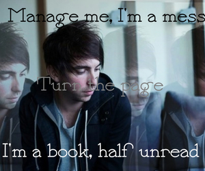 alex, alex gaskarth, and all time low image