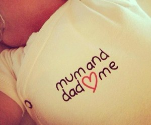 baby, beautiful, and dad image