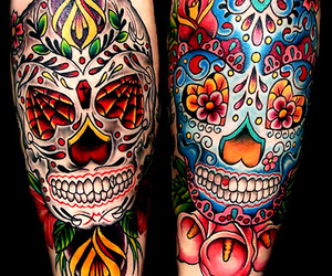 tattoo and skull image