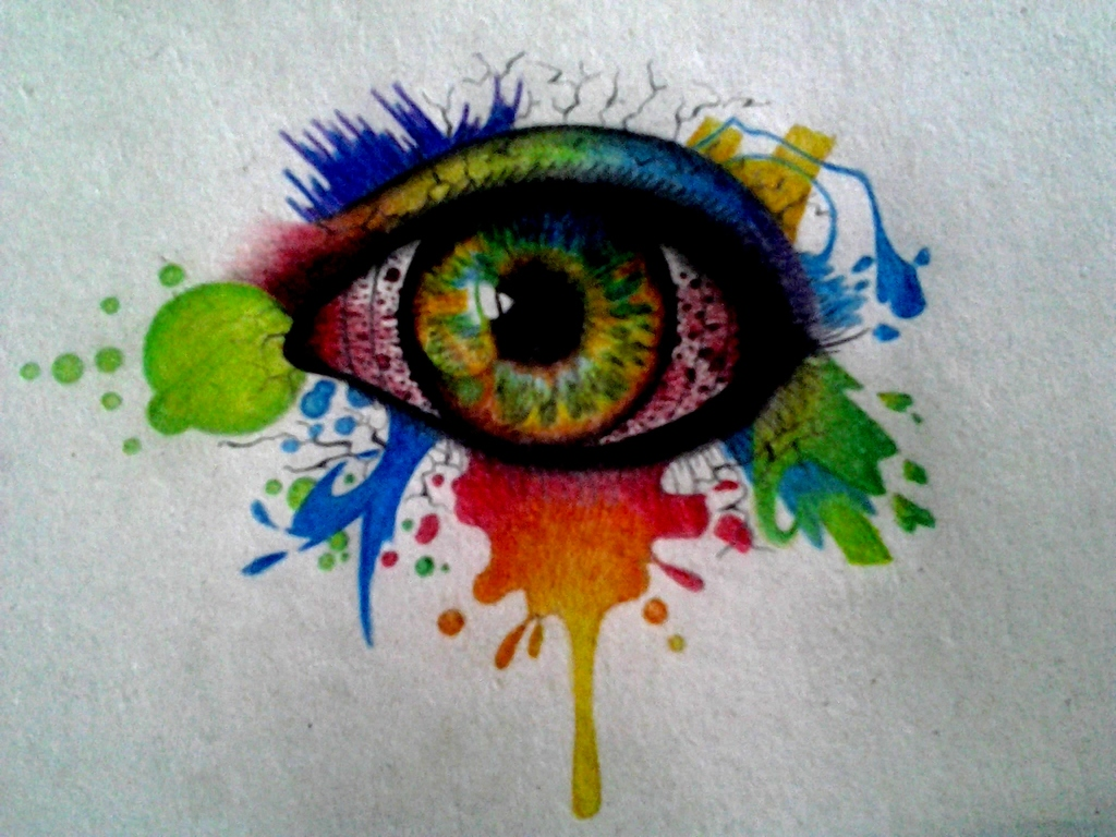 colorful eye drawing shared by daniel winters